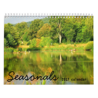 Seasonals 2017 Wandkalender südlicher Hemisphäre