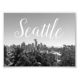 Seattle Fotodruck