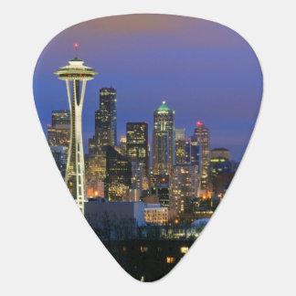 Seattle gesehen von Kerry-Park in der Königin Anne Plektron