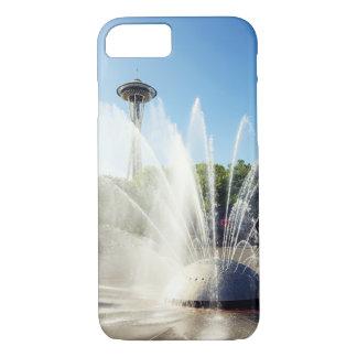 Seattle-Raum-Nadel und Brunnen iPhone 8/7 Hülle