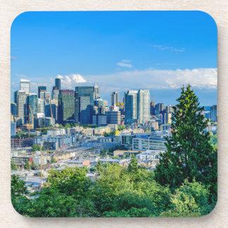 Seattle-Skyline Untersetzer