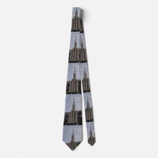 Seattle-Tempel Bedruckte Krawatten