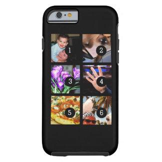 Sechs Ihrer Fotos, zum Ihrer eigenen Vorlage zu Tough iPhone 6 Hülle