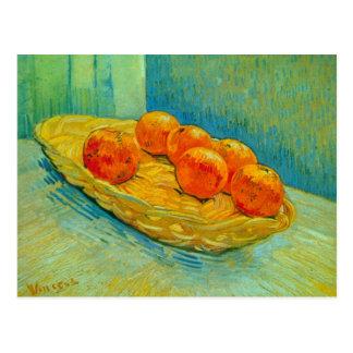 Sechs Orangen durch Vincent van Gogh Postkarte