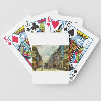 Sechzigerjahre Hong Kong Bicycle Spielkarten