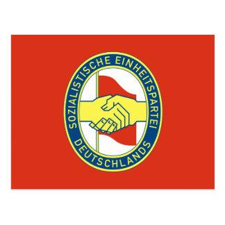 Sed, politische Flagge Kolumbiens Postkarten