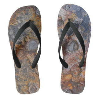 Sedementary Felsen-Natur-Oberfläche Flip Flops