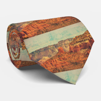 Sedona in der Grunge-Krawatte Individuelle Krawatte