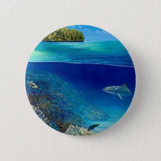 See 3 durch Michael Glinski Runder Button 5,1 Cm