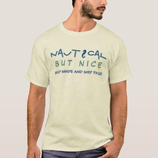 See- aber Nizza Schiff gegenübergestellt T-Shirt