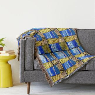See-angenehme Säulesaguaros-Wurfs-Decke Decke