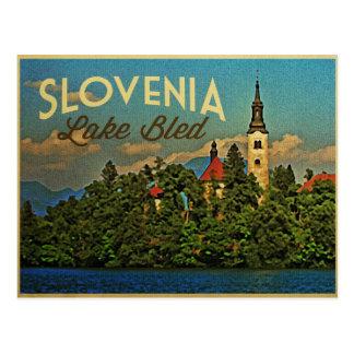 See blutete Slowenien Postkarte