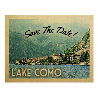 See Como Save the Date Menaggio Italien Postkarte