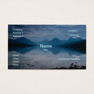 See McDonald, Galcier Nationalpark Visitenkarten