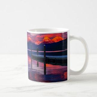 See McDonald, Glacier Nationalparkrothimmel Kaffeetasse