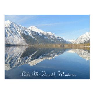 See McDonald, Montana-Postkarten-Andenken Postkarte