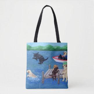 See-Spaß Labradors Malerei-Tasche Tasche