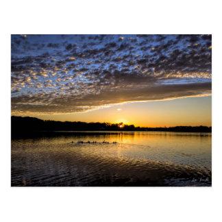 See Winnemaug Sonnenaufgang Postkarte