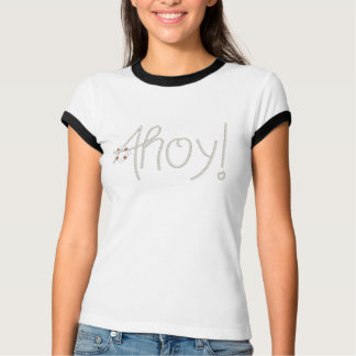 Seeahoi Seil-Text u. Lebensretter T-Shirt