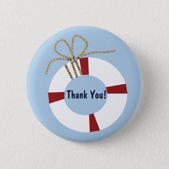 Seebaby-Duschen-Lebensretter danken Ihnen, Button