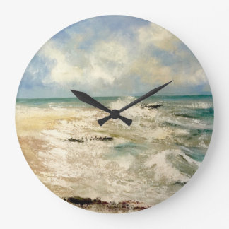 Seebrisen-Uhr Große Wanduhr