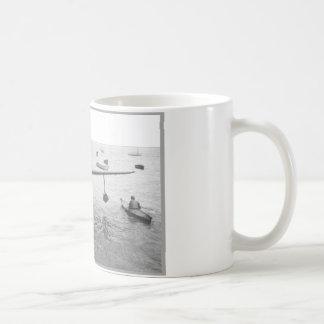 Seeflugzeug u. Kanu Kaffeetasse