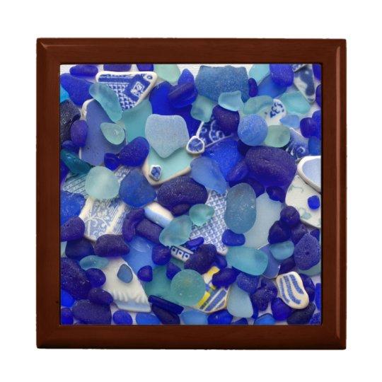 Seeglas, Große Quadratische Schatulle