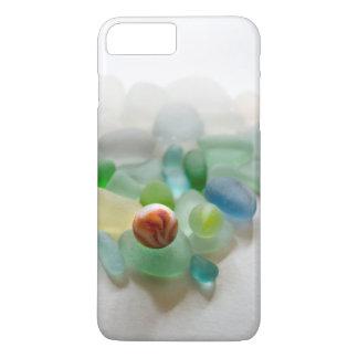 Seeglas, Strandmarmor iPhone 8 Plus/7 Plus Hülle