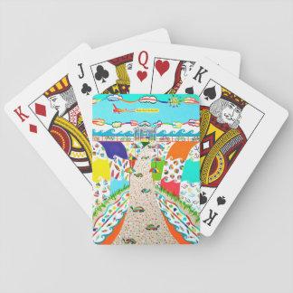 Seeinsel-Stadt, NJ Poker-Karten Spielkarte