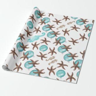 Seeleben-tropische Einpackpapier