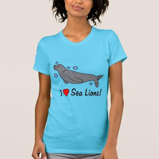 Seelöwe schützen unsere Ozeane T-Shirt