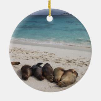 Seelöwe-Verzierung
