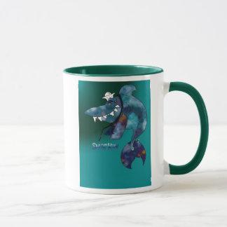 Seemann-Haifisch-Tasse Tasse