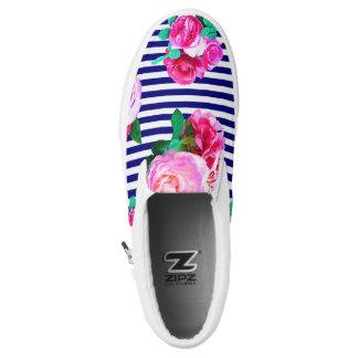 Seemann-Mädchen-Beleg auf Schuhen Slip-On Sneaker