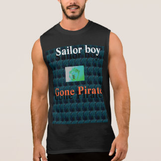 Seemannjunge gegangener Pirat Ärmelloses Shirt