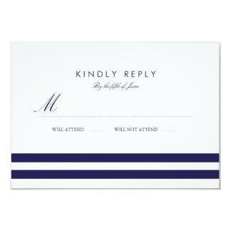 Seemarine-Hochzeit UAWG 8,9 X 12,7 Cm Einladungskarte