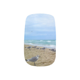 Seemöwe-Nagelkunst Minx Nagelkunst