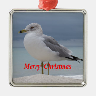 Seemöwe Silbernes Ornament