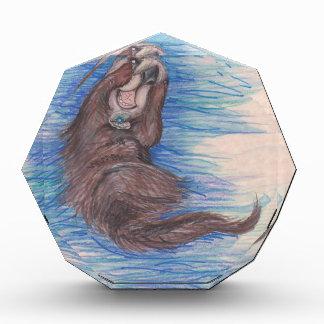 Seeotter-kleines wildes Tier-Lebewesen niedlich Auszeichnung