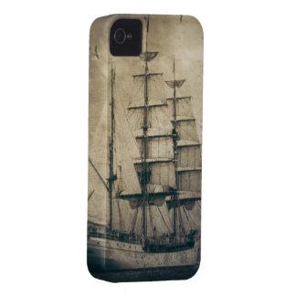 Seeozean-SeeVintages Segelnsegelboot iPhone 4 Cover