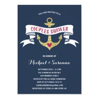Seepaar-Polterabend 12,7 X 17,8 Cm Einladungskarte