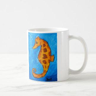 Seepferd durch Joel Anderson Kaffeetasse