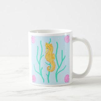 Seepferd Kaffeetasse