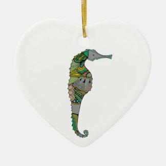 Seepferd Keramik Ornament