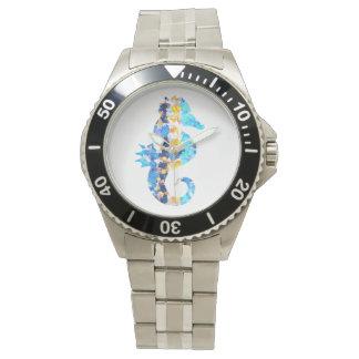 Seepferd-Uhr Armbanduhr