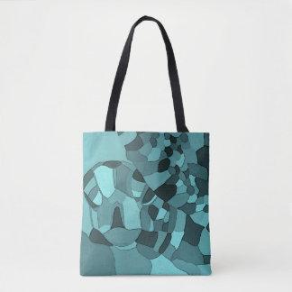 Seeschildkröte-Mosaik-Taschen-Tasche