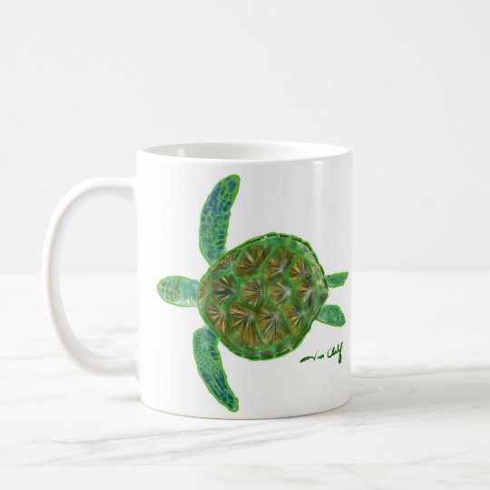 Seeschildkröte-Tasse Tasse