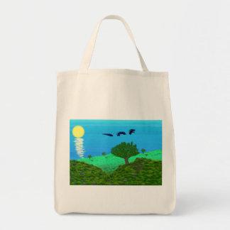 Seeschlangen-LandschaftsTaschen-Tasche Tragetasche