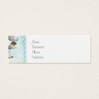 Seeseashells-Ankerstarfish-Strand-Thema Mini Visitenkarte
