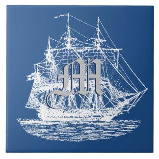 Seesegeln-hohe Schiffs-Auswahl irgendeine Farbe Fliese